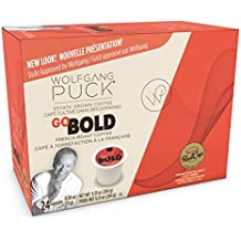 Wolfgang Puck Coffee Single Serve Cups, Go Bold French Roast, 24 Count