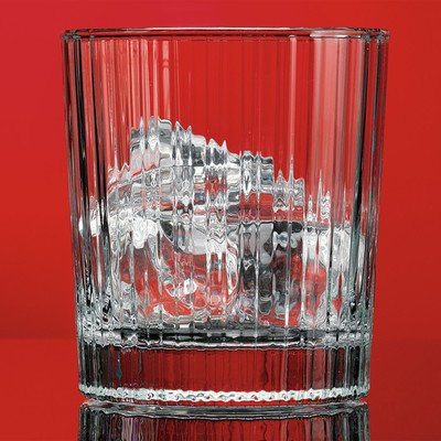 Red Series 12 oz. Stripe Double Old Fashioned Glass (Set of - Stripe Water Glasses