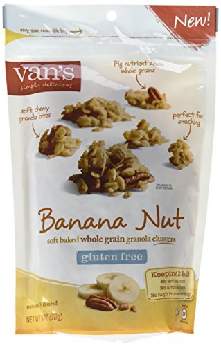 Van's Simply Delicious Gluten-Free Soft and Chewy Granola, Banana Nut, 11 ()