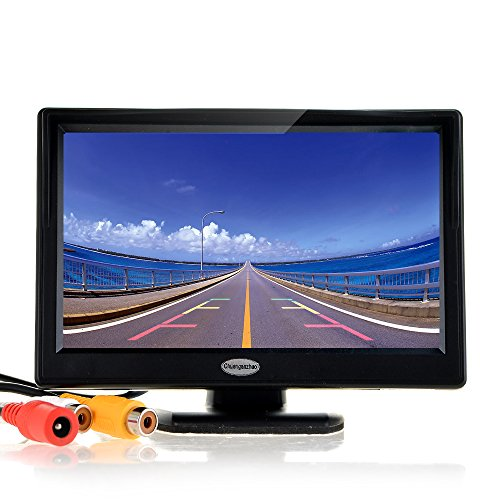 "5"" Inch Digital TFT LCD Color Car Rear View Monitor Screen for Parking Backup Camera ,Support all the car with 12V/24V Power,High Definition 800(RGB)X480 Pixel"