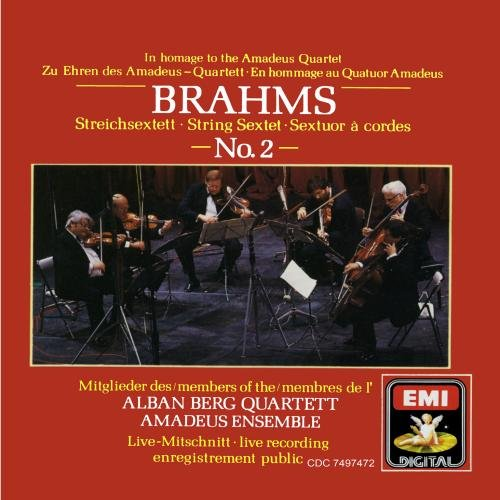 Brahms: Sextet No. 2 / Andante excerpt (from Sextet No. 1), Opp.18, 36