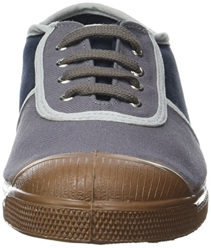 Femme gris School Basses Baskets Bensimon Gris Old Colored wna1X7xq8