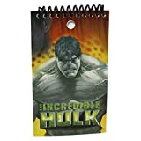 Yellow The Incredible Hulk Reporter Style Notepad