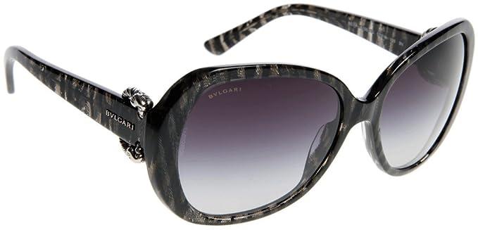Gafas de Sol Bvlgari BV8077 CROISETTE BLACK - GRAY GRADIENT ...