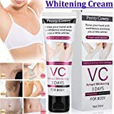 RONSHIN VC Underarm Whitening Cream for Bikini Elbow Armpit Knee Dark Area CosmetologicalProducts