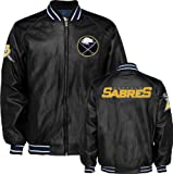 Buffalo Sabres Faux Leather Varsity Jacket