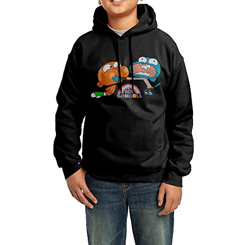 XMAS Youth The Amazing World Of Gumball Brother Pullover Hoodie Sweatshirt (Gumball And Quarter Costume)