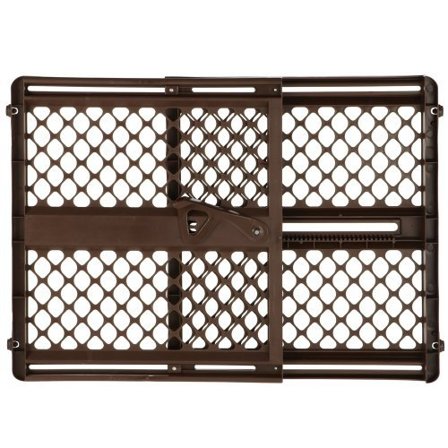 North States Supergate Ergo Baby/Child Safety Pet Gate - Espresso | 8719