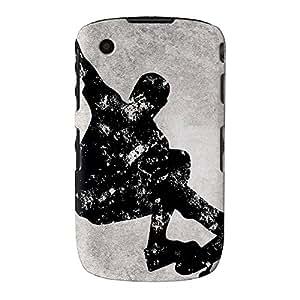 Grunge Skateboard Blanco y Negro Full Wrap Case, funda carcasa para Blackberry Curve 9330Impreso en 3d de alta calidad de UltraCases