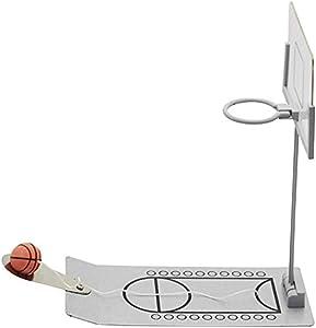 Halloluck Basketball Game Toy, Mini Desktop Tabletop Portable Folding Travel Office Game Set for Indoor or Outdoor, Folding Basketball Shooting Game Set for Indoor or Outdoor, Fun Sports Novelty Toy