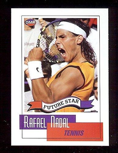 (RAFAEL NADAL 2004 Rookie Card OMR Future Star Tennis)