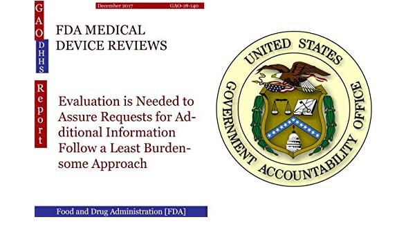 b63e2262975c Amazon.com  FDA MEDICAL DEVICE REVIEWS  Evaluation is Needed to ...
