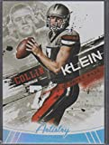 2013 Sage Hit Collin Klein Texans Artistry Football Card #ART-8