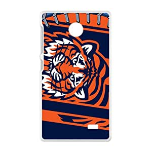 New Style Custom Picture NFL Detroit Tigers Logo Cell Phone Case for Nokia Lumia X