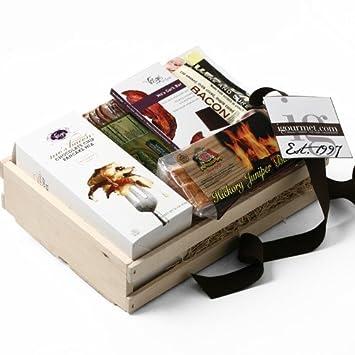Amazon.com : Artisan American Bacon Gift Basket (3 pound ...