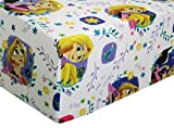 Tangled Dream Adventure 100% Polyester (Fitted Sheet ONLY) Size Twin Girls Kids Bedding
