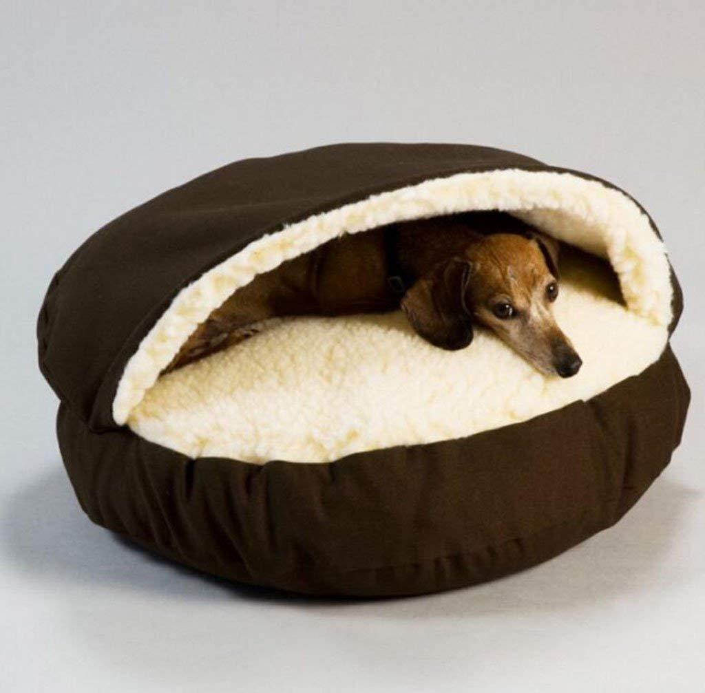 HEI SHOP Cama para Mascotas extraíble y Lavable, Semi ...