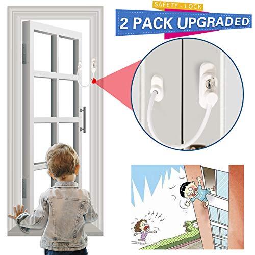 Cerrojo de seguridad para ventanas y puertas, con cerradura deslizante para la seguridad del bebé, seguridad de los niños,...