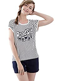 Tufu Women's Short-Sleeved Soft Simple And Comfortable Pajamas