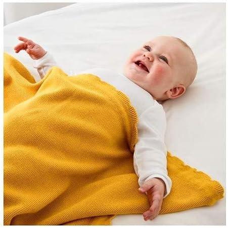 SOLGUL IKEA Cuna con colchón de espuma, en color blanco, (66 ...