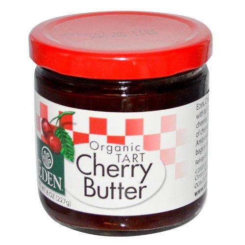 Organic Cherry Butter Eden Organic 8 oz Glass Jar by Eden (Image #2)