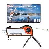 Fisherman Gift Tool Fishing Multitool - Hook Remover, Scale Scraper, Tape Measure, Bait Cutter,...