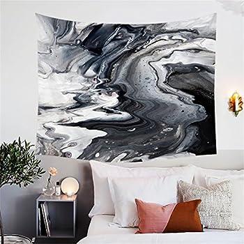 Amazon Com Blessliving Marble Tapestry Modern Wall