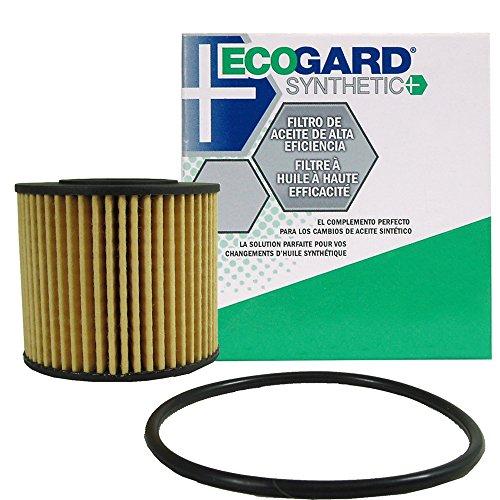 ECOGARD S6311 Cartridge Engine Oil Filter for Synthetic Oil - Premium Replacement Fits Toyota Corolla, Prius, Prius V, Matrix, Prius Plug-In, Corolla iM, Prius Prime / Scion xD, iM / Lexus CT200h (Prius Oil 2013 Filter Toyota)