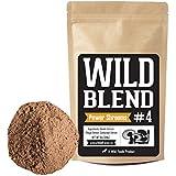 Mushroom Powder Blend #4 | Reishi, Chaga, Cordyceps Extracts for Smoothies, Shakes, Coffee - Vegan, Paleo, Keto - Nootropic Mental Performance (#4 Power Shrooms - 8oz)