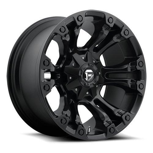 Fuel D560 Vapor 20x9 5x139.7/5x150 +1mm Matte Black Wheel Rim 5 X 150 Rims