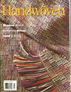 Handwoven Magazine, March/April 1998 by…