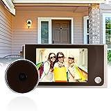 "XCSOURCE 3.5"" LCD 120 degree Visual Door Peephole Peep Hole Viewer Wide Camera Digital TH191"