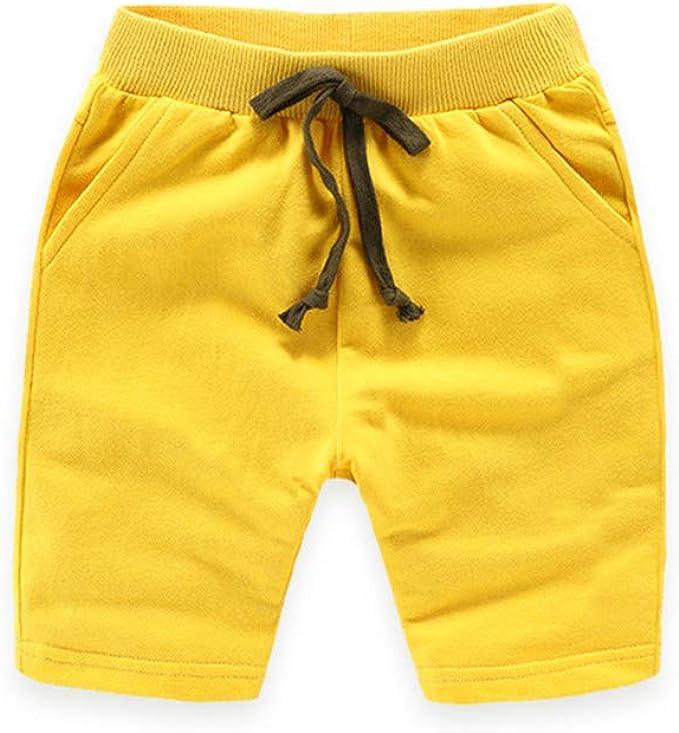 Casa Shorts para Niños Cintura Ajustable de Algodón Pantalones ...