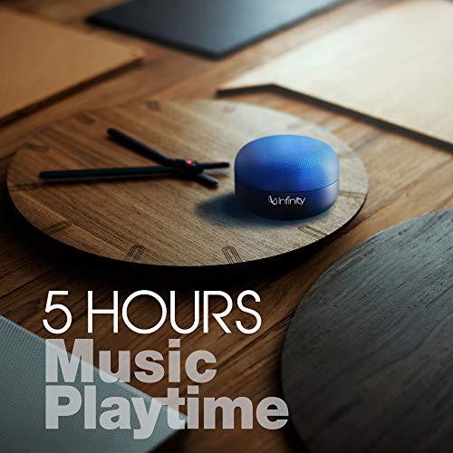 Infinity by Harman Fuze Pint Deep Bass Dual EQ Bluetooth 5.0 Wireless Portable Speaker (Mystic Blue)