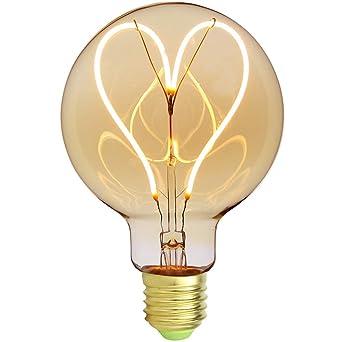 Edison LED G125 E27 Classique 240V LighitngDesigner Ampoule Yb6yf7gv