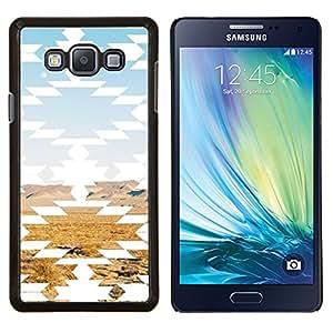 LECELL--Funda protectora / Cubierta / Piel For Samsung Galaxy A7 A7000 -- Paisaje del desierto Arte Rocas --
