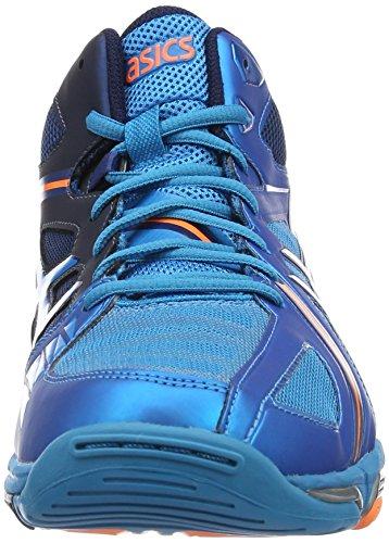 Asics Herren Gel-Volley Elite 3 MT Low-Top Blau (mt Blue/white/hot Orange)