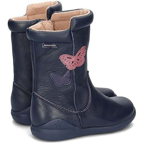 Biomecanics 161157, Zapatos de Primeros Pasos para Bebés Azul Marino (Sauvage)