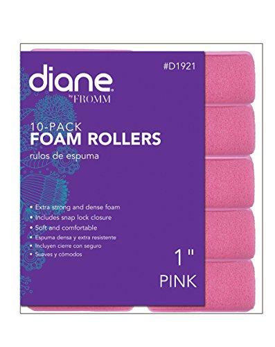 - Diane Foam Rollers, Pink, 1