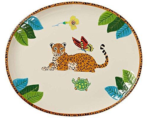 Jungle Jubilee Oval Platter ()