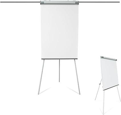 B-WARE Franken FC84 Flipchart-Tafel Deluxe Standard 67 x 95 cm hellgrau Büro