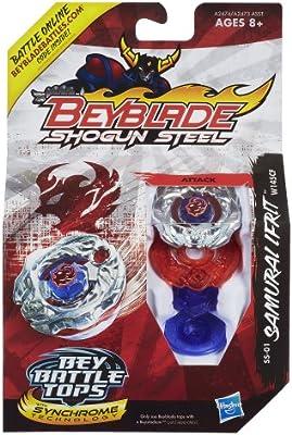 BEYBLADE W145CF Shogun Steel Beybattle SS-01 Samurai Ifrit Tops Hasbro A2474000