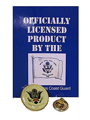 U.S. Coast Guard USCG Bike Motorcycle Hat Cap lapel Pin ()