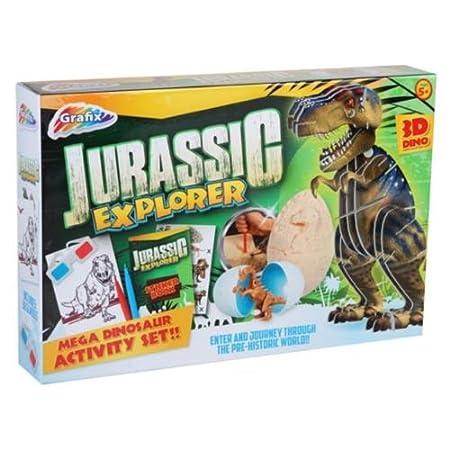 Set de Jurassic Explorer: Amazon.es: Hogar