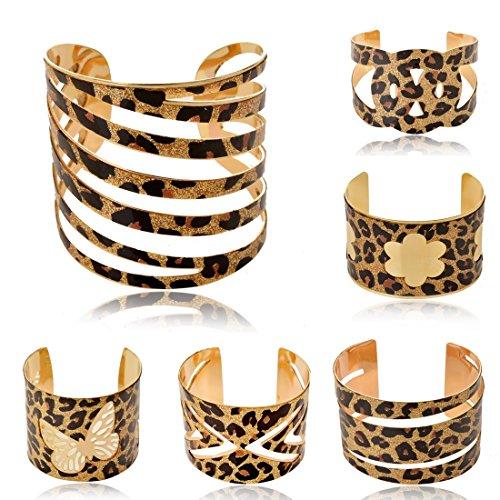 Sexy Print Leopard Bangle Bracelet