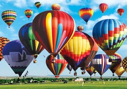Farbeluxe 1500 1500 1500 Piece Puzzle - Albuquerque International Balloon Fiesta by LPF b80940