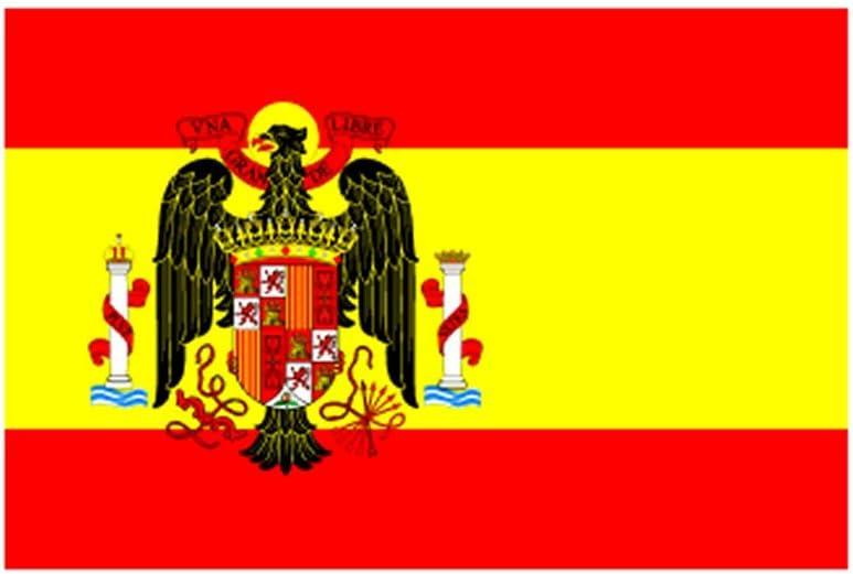 MAFCO - Bandera de poliéster de 1945 a 1977 con ojales de latón (3 x 5 pies): Amazon.es: Hogar