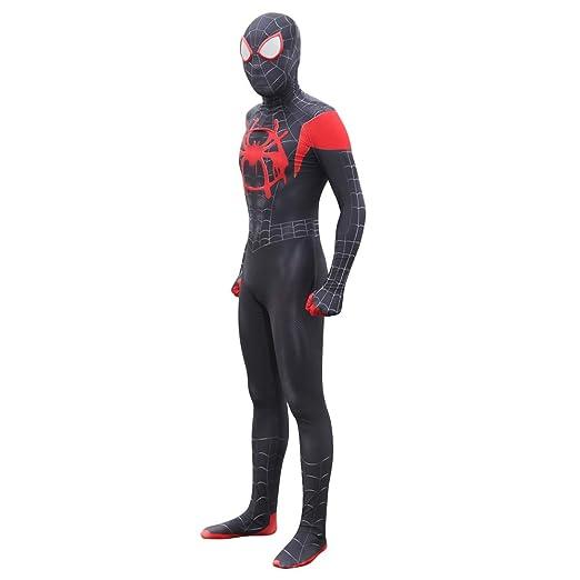 Amazon.com: APPSS Spiderman Cosplay Costume Halloween Full ...