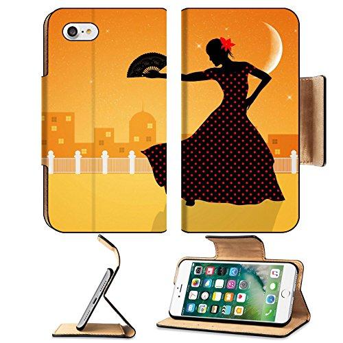 Flash Dance Latin Costumes (Liili Apple iPhone 7 Pu Leather Flip Case Illustration of flamenco dancer iPhone7 Plus Image ID 21730600)