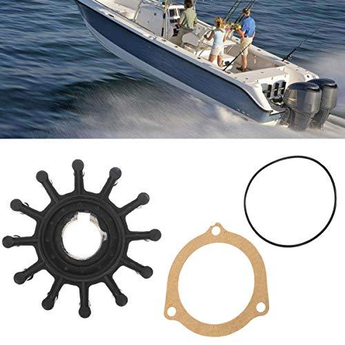 Ignar Boat Engine Boat Water Pump Impeller Repair Kit 10615K for Sherwood G4 G5 M71 G7 G7B L10 L80 10615K Rubber + Metal Replacement 66mm Diameter